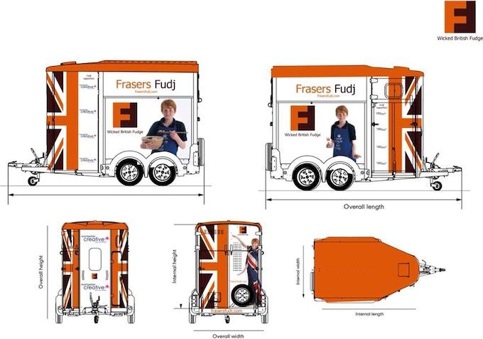Fraser horsebox design