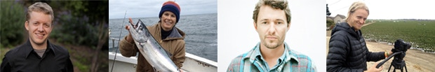 THE FILMMAKERS : Mischa Hedges, Melissa Stevens, Justin Lewis, and Sashwa Burrous
