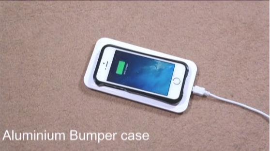 Aluminium bumper case