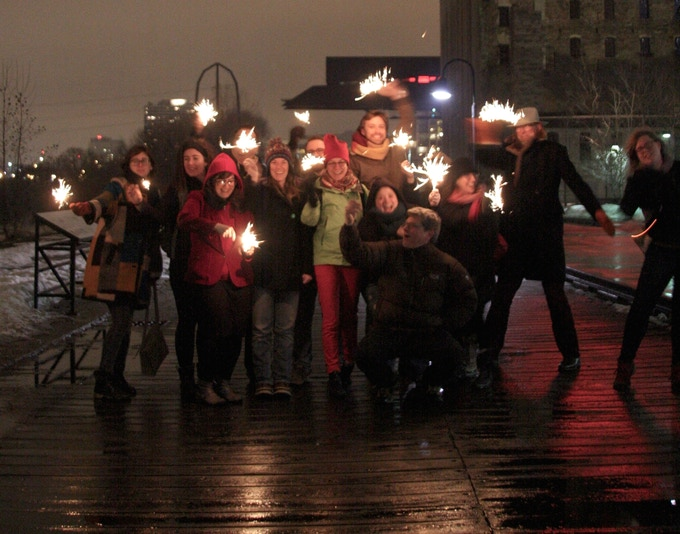 Northern Spark 2014 staff and volunteers