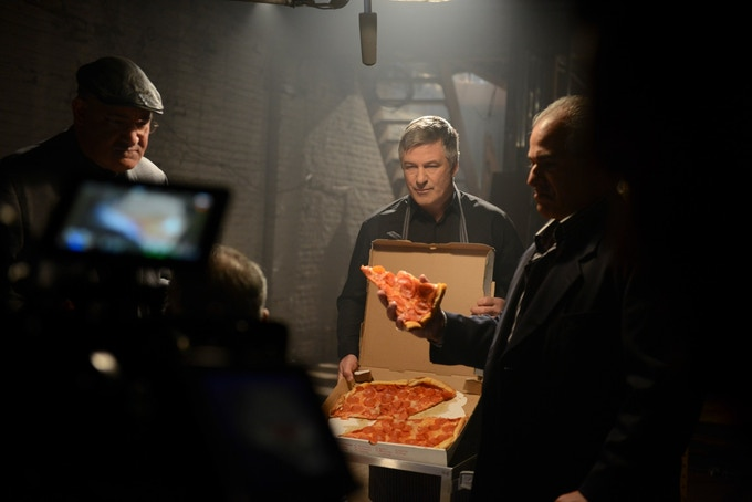 "Alec Baldwin as ""Francis"", the capo. [Photo credit: Ali Goldstein]"