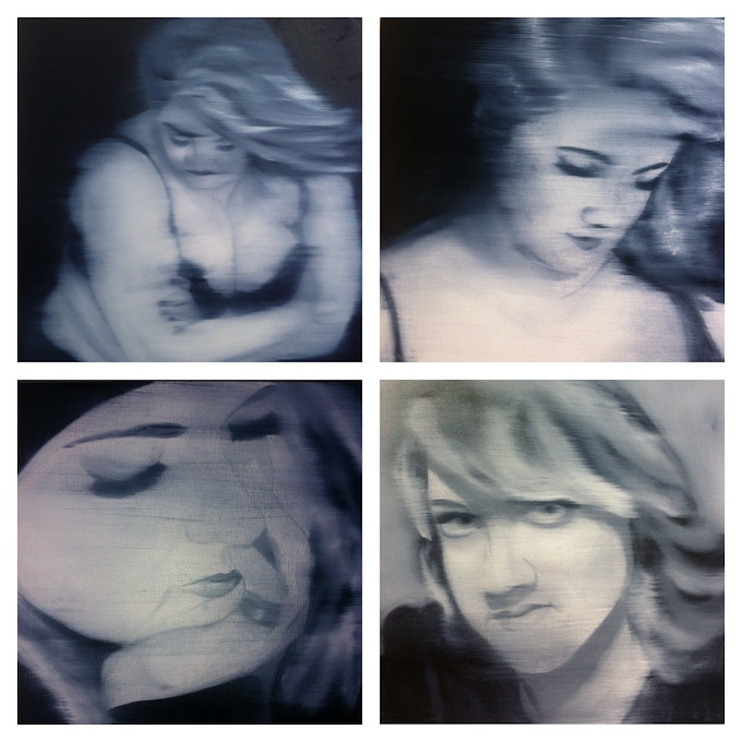 Some examples of previous work, self portraits.