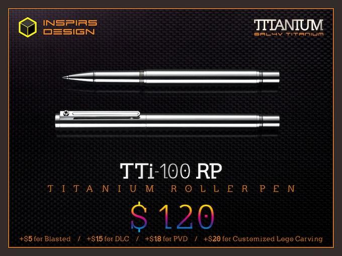 INSPIRS DESIGN-TTi-100 RP / N (Retail: $185)