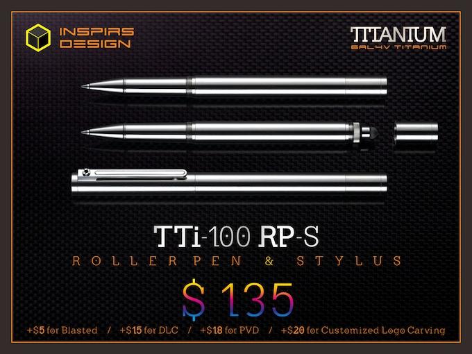INSPIRS DESIGN-TTi-100 RP-S / N (Retail: $230)