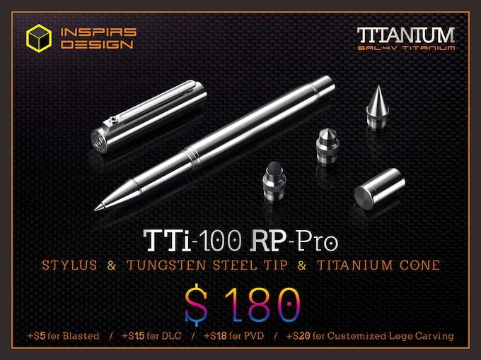 INSPIRS DESIGN-TTi-100 RP-Pro / N (Retail: $280)
