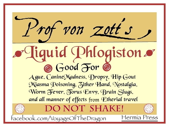 Phlogiston Sticker