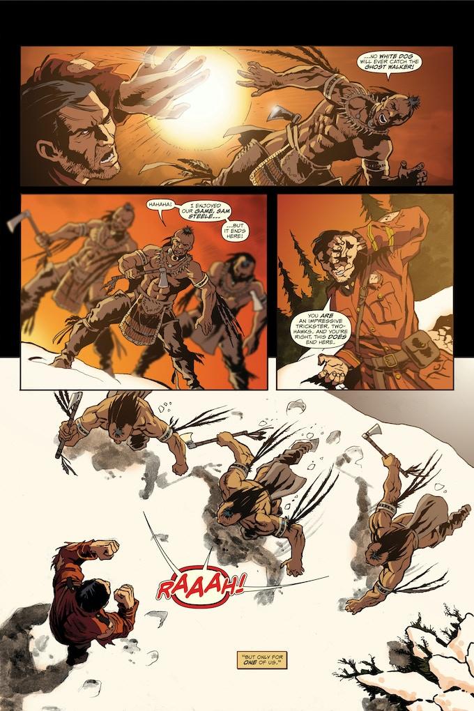 Steele #0 Vs The Ghost Walker Page 2