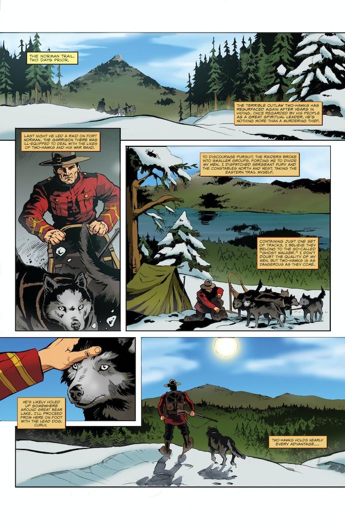Steele #0 Vs The Ghost Walker Page 3