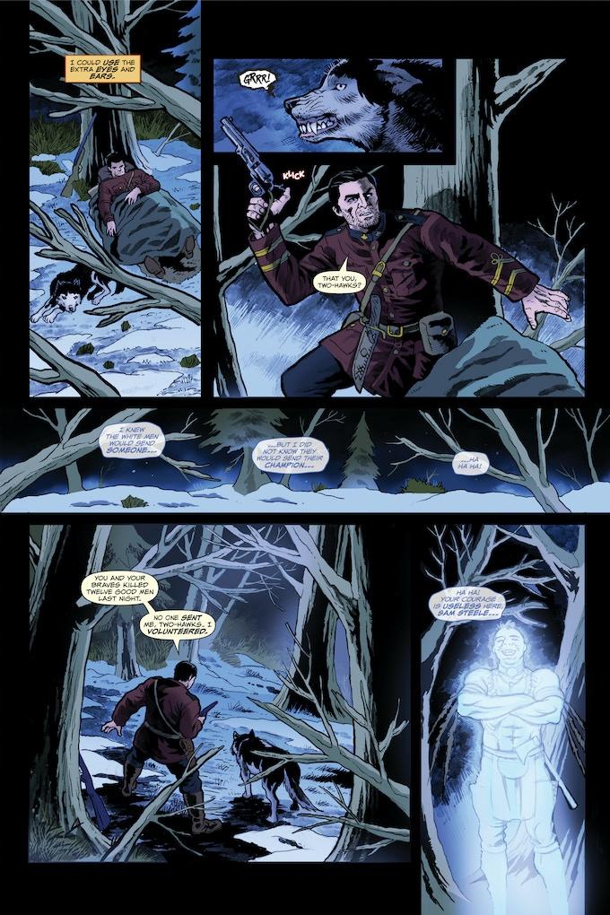 Steele #0 Vs The Ghost Walker Page 4