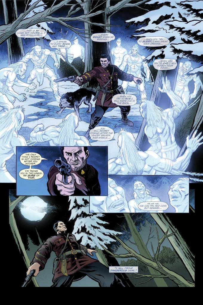 Steele #0 Vs The Ghost Walker Page 5