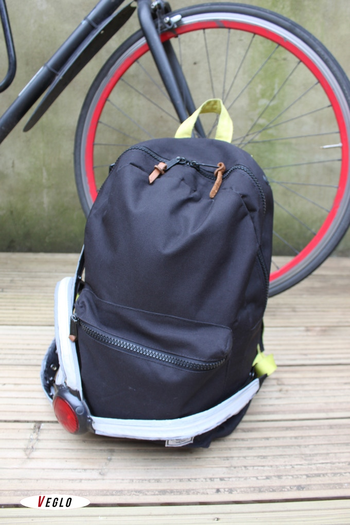 Unclip one strap to access your entire backpack