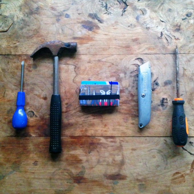 Tools Flip Wallet