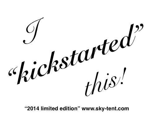 "... And by request we have added for this kickstarter project only a ""2014 limited edition"" for backers of $100 or more!"
