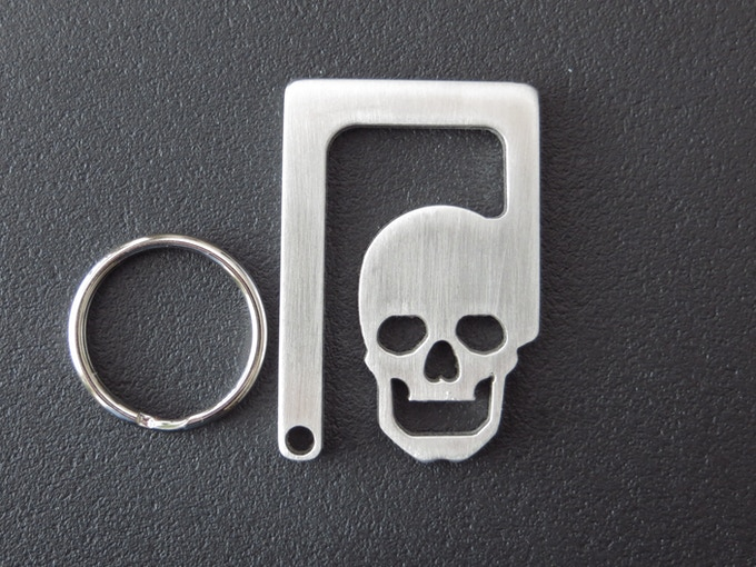 walking dead style bottle opener key chain by alice hocker kickstarter. Black Bedroom Furniture Sets. Home Design Ideas