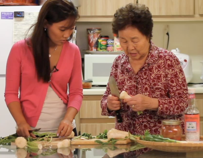 Cooking With Granny Web Series By Caroline Shin Kickstarter