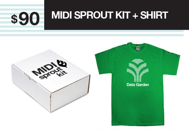 Build a kit, make plant music and look good doing it.