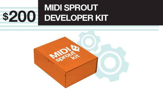 Get the MIDI Sprout kit before anyone else. Your early adoption of this technology will help us to develop our Frequently Asked Questions for future users.