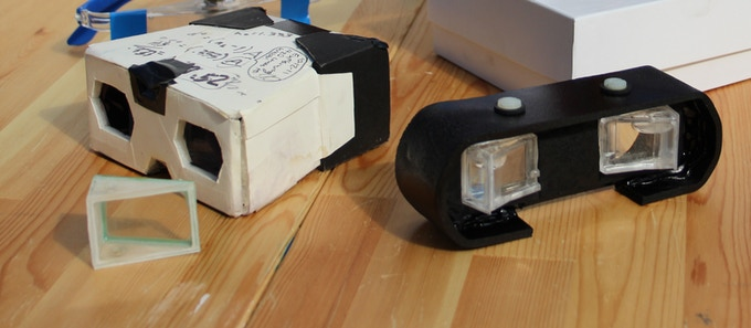 Very first concept model with Special New Binoculars (Hand-Assembled & most video-compatable version)
