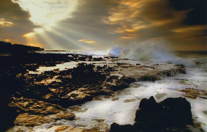 The Irish coast - photo by Sean Tomkins