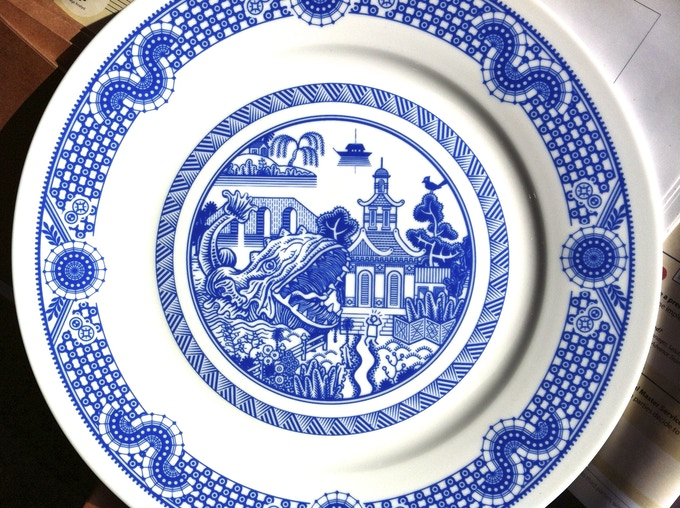 Calamityware Dinner Plate 3 By Don Moyer Kickstarter