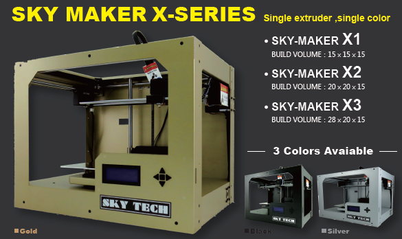 SKY-MAKER X-series for PLA prints