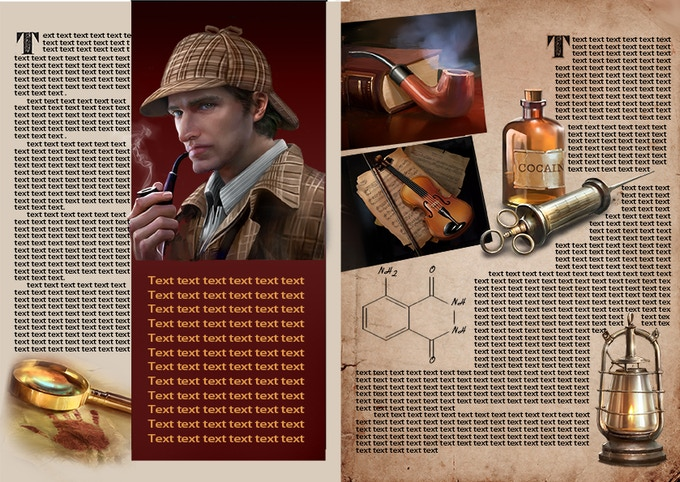 First stretch goal-The Handbook of Sherlock Holmes Cases- $7500 CAD