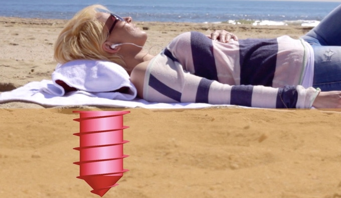 Anchor Your Towel With The Beach Vault