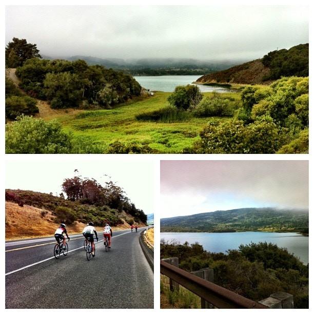 Riding in beautiful California