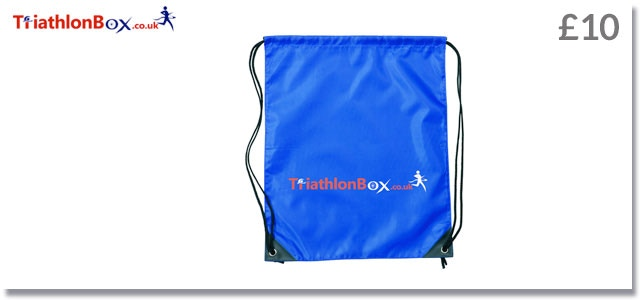 High quality British drawstring bag