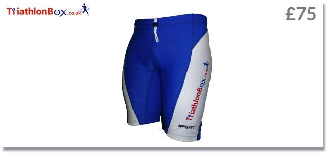 British designed & produced triathlon shorts