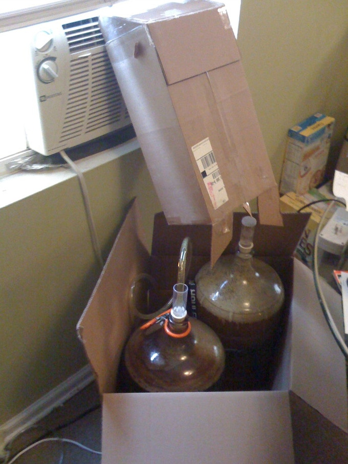 Not the best way to ferment
