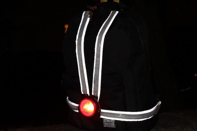 Disable the fibre optics and get reflectors
