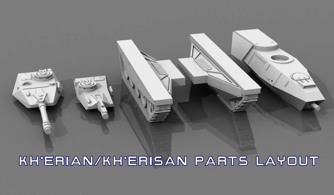 Kh'Erisan parts layout