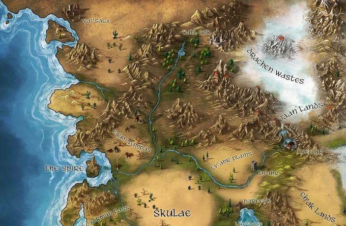 An example of cartography by Alyssa Faden
