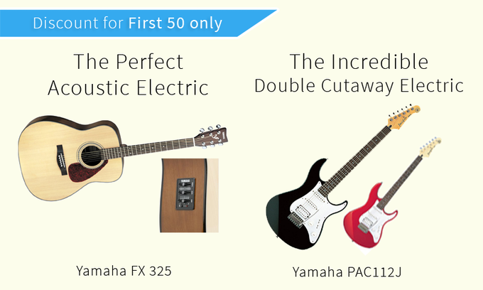 Your Choice of your favorite guitar