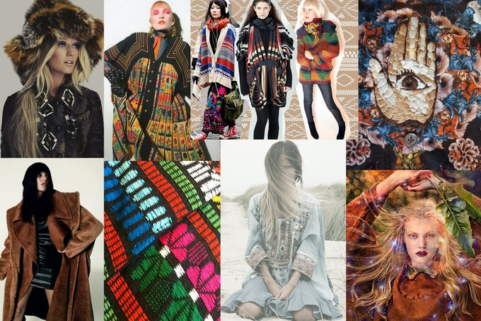 Mood Board for Fall 2014 Collection