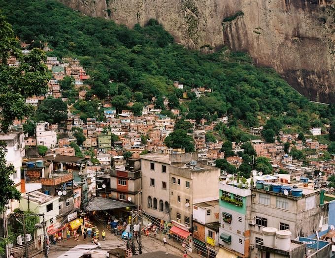Rocinha, View from Laboriaux, 2013