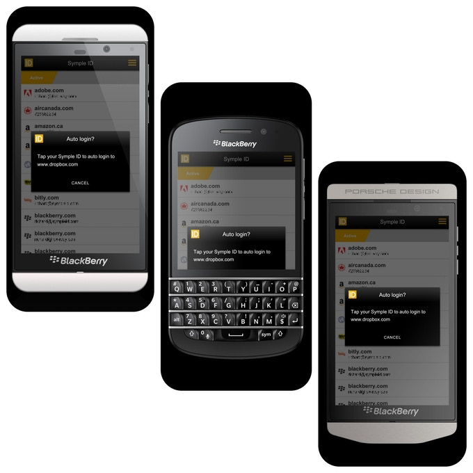 A Few of the BlackBerry 10 Supported Phones
