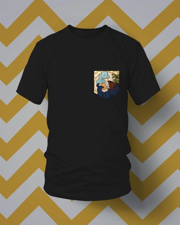 Prototype AR T-shirt (Artwork subject to change)