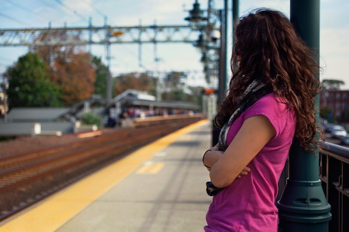 Victoria at Milford's MetroNorth Train Station