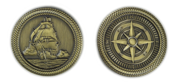 Fantasy Coins for Board Games, RPGs, LARP, or any occasion