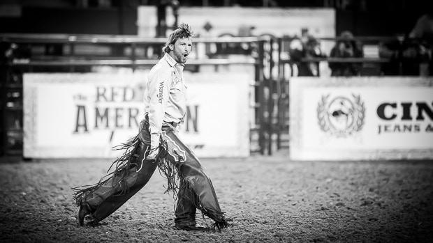 Saddle Bronc Rider - Wade Sundell