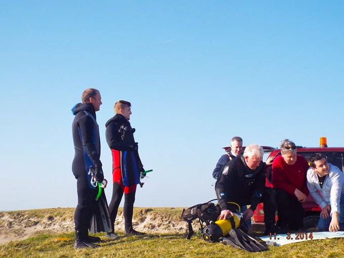 Some of Project San Marcos 2014 team at Seafield, Ireland - photo by Shauna Glynn