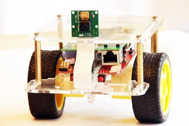 GoPiGo with Forward Facing Camera Mounted