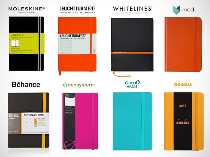 compatible with these sketchbooks + any notebook with a bookmark