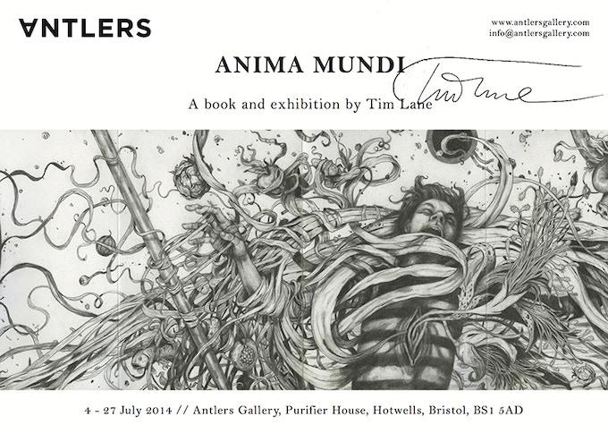 Anima Mundi Poster - Signed by Tim Lane