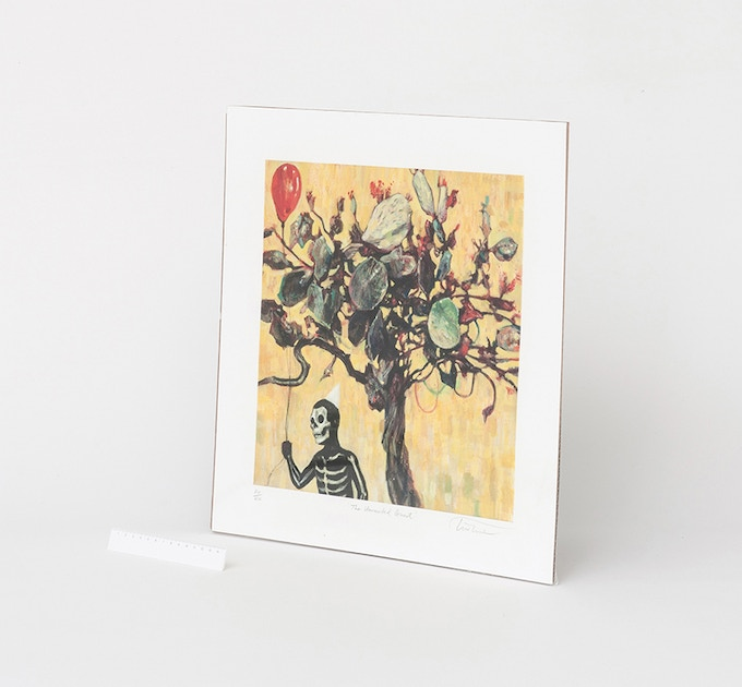 An example of Uninvited Guest print
