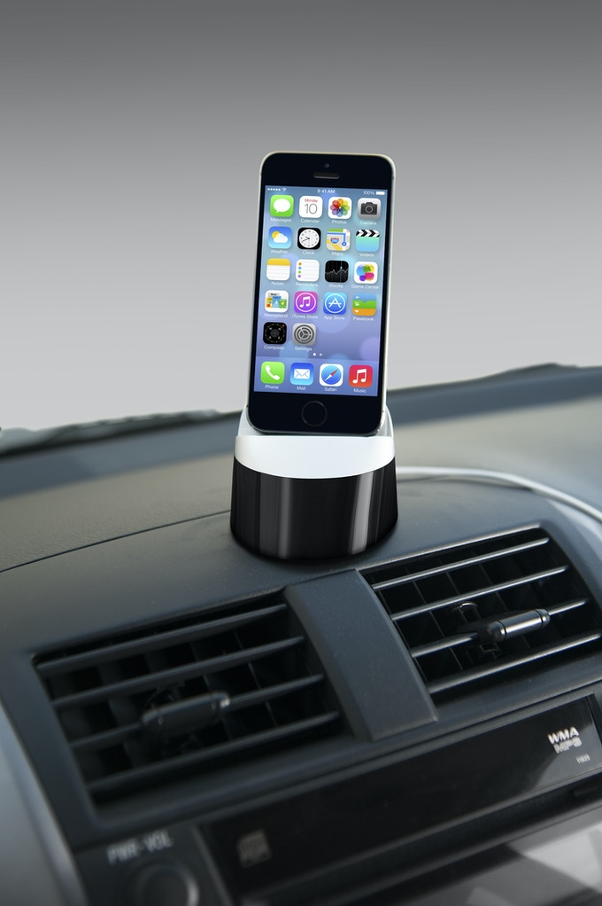 3307380b906f16 EverDock Go: Universal Car Dock for iPhone, Android by FŪZ Designs ...