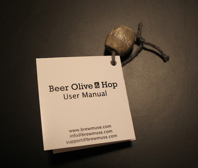 """The planned """"Out of Box Experience"""" for a Beer Olive"""