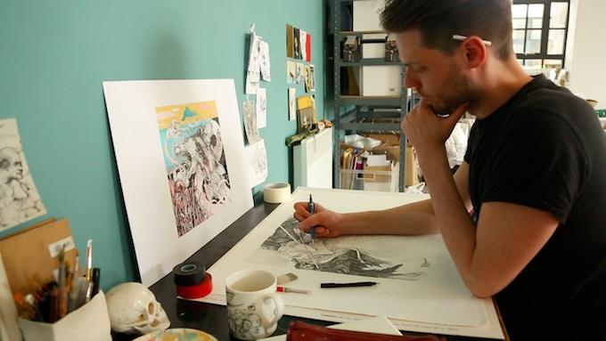 Tim Lane Drawing.